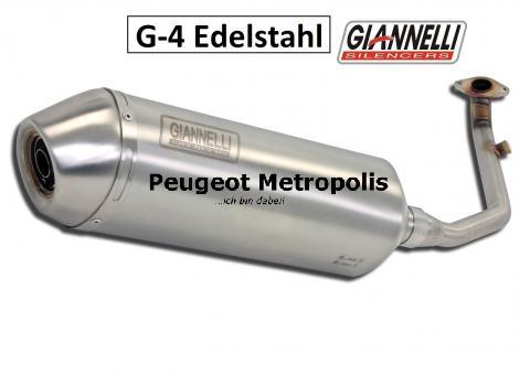 Giannelli G-4 Sportauspuff Edelstahl