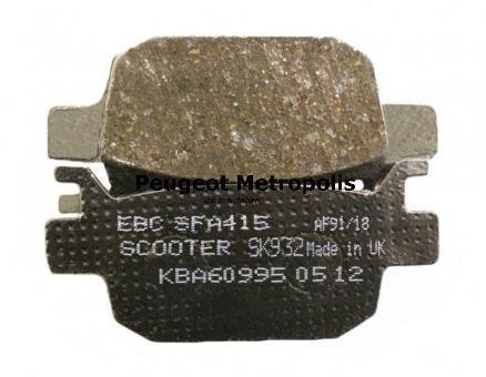 EBC Bremsbeläge SFA415 Organisch