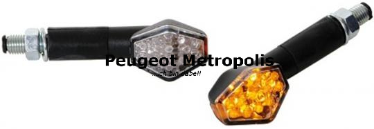 Mini LED Blinker Hexagon