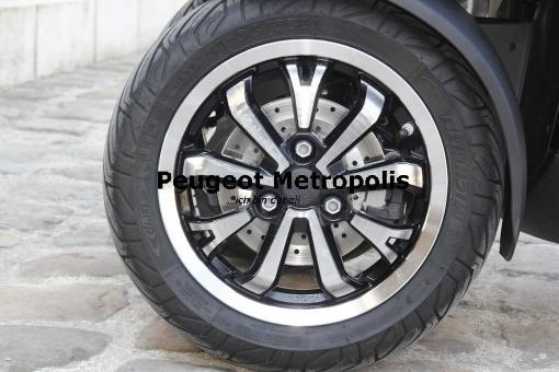 Peugeot Metropolis 400 Vorderradfelge