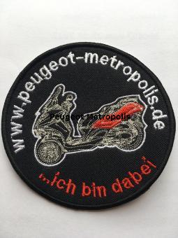Peugeot Metropolis Deutschland Patch Aufnäher