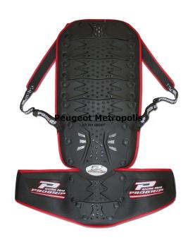 Progrip Rückenschutz 5501 mit Nierengurt S