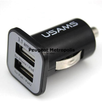 USAMS® Dual-Port Kfz Ladegerät