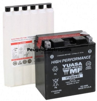 Starterbatterie Yuasa YTX20CH-BS