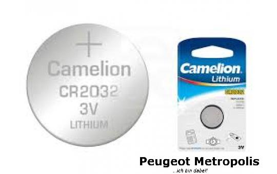 Batterie Knopfzelle Lithium CR2032 / 3V