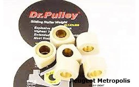 Dr.Pulley Gleitrollen (SR) Metropolis 400 (gebraucht) SR2515/8-14 Gramm