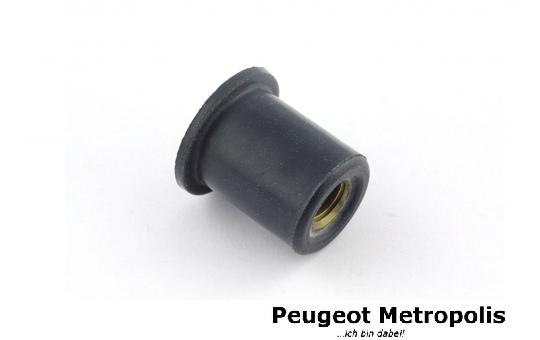 Peugeot Verkleidungs Gummimutter 5x8x9