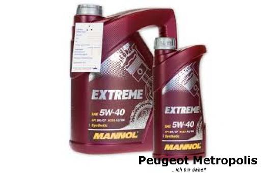 MANNOL 5W-40 Extreme Öl - 1 Liter Flasche