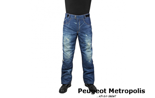 Motorradhose OJ Freestyle Blue