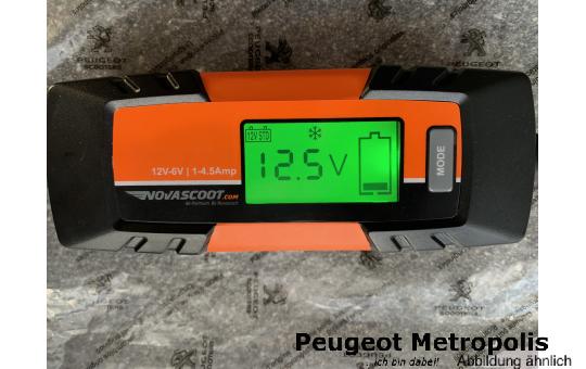 Novascoot F4 Automatik Ladegerät 6V/12V