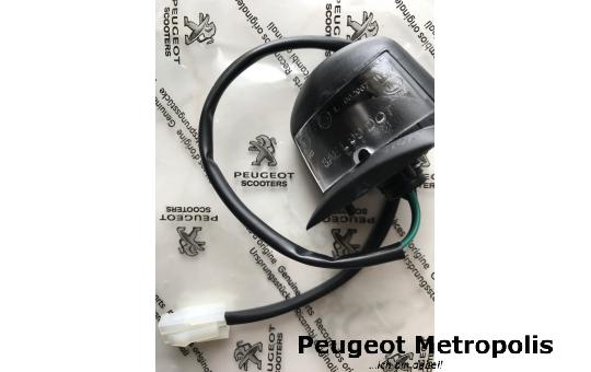 Peugeot Metropolis 400 Kennzeichen Beleuchtung