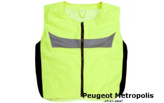 Peugeot Warnweste gelb