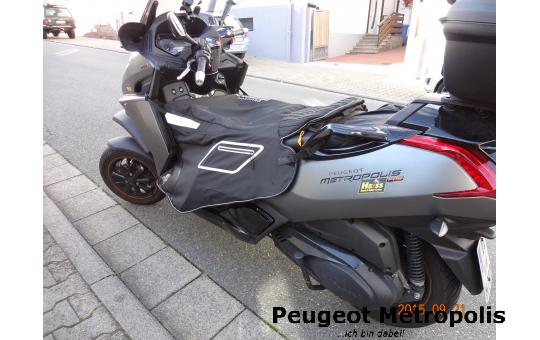 Peugeot Metropolis 400 Beinschutz, Kniedecke