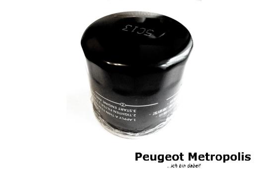 Peugeot Metropolis 400 Ölfilter