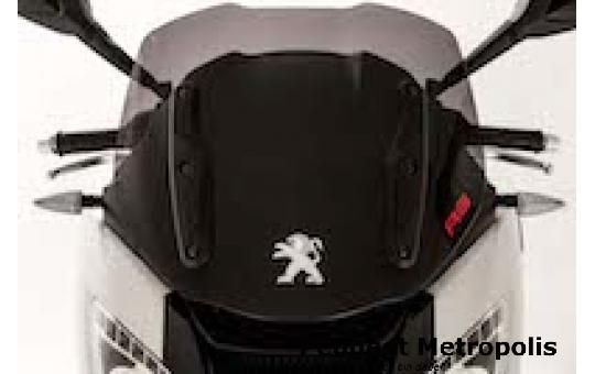 Peugeot Metropolis 400 Rückenstütze Schwarz | Titan (RS)