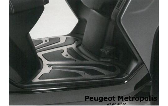 Peugeot Metropolis 400 Trittbrett Edelstahl
