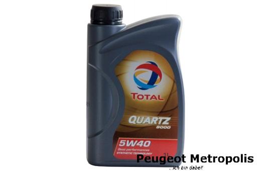 TOTAL QUARTZ 9000 5W-40 - 1 Liter Flasche