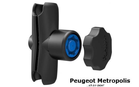 RAM-MOUNT 7Pin-Lock Verbindungsarm mittel für B-Kugeln