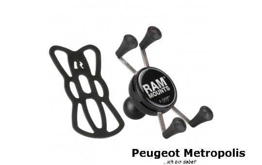 RAM-MOUNT  X-Grip Universal Halter für B-Kugel