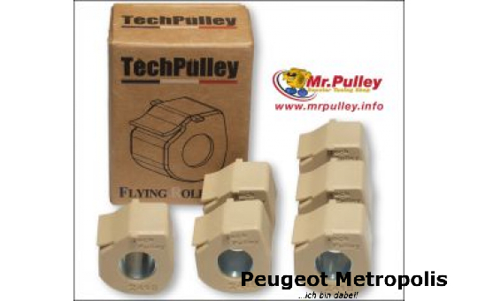 TechPulley Gleitrollen (FR) Metropolis 400