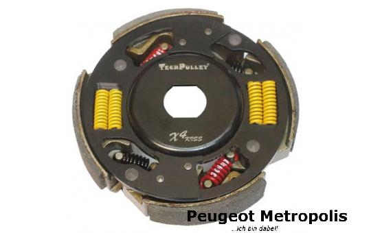 TechPulley X4 Kupplung Metropolis 400