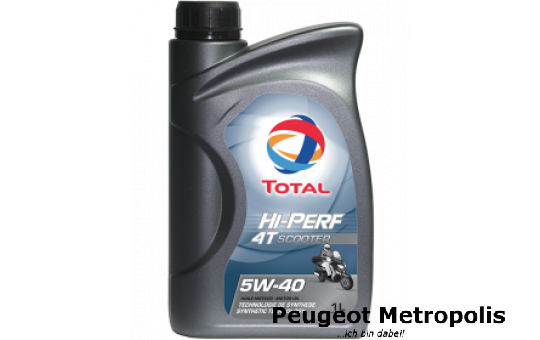 TOTAL HI-PERF 4T SCOOTER 5W-40