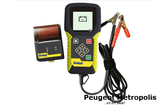 Unibat Batterietester UT12