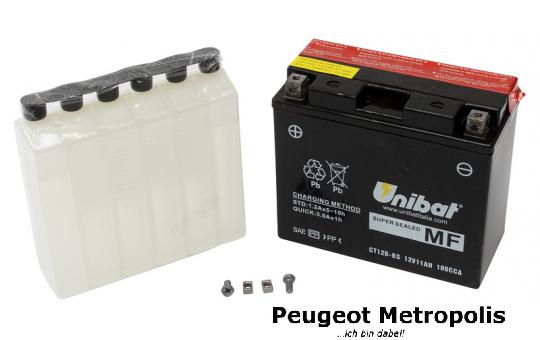 Starterbatterie Unibat CBTX20CH-BS