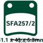 EBC Bremsbeläge SFA257/2