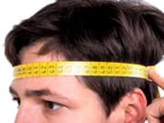 Helmgröße messen