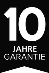 10 Jahre Kriega Garantie